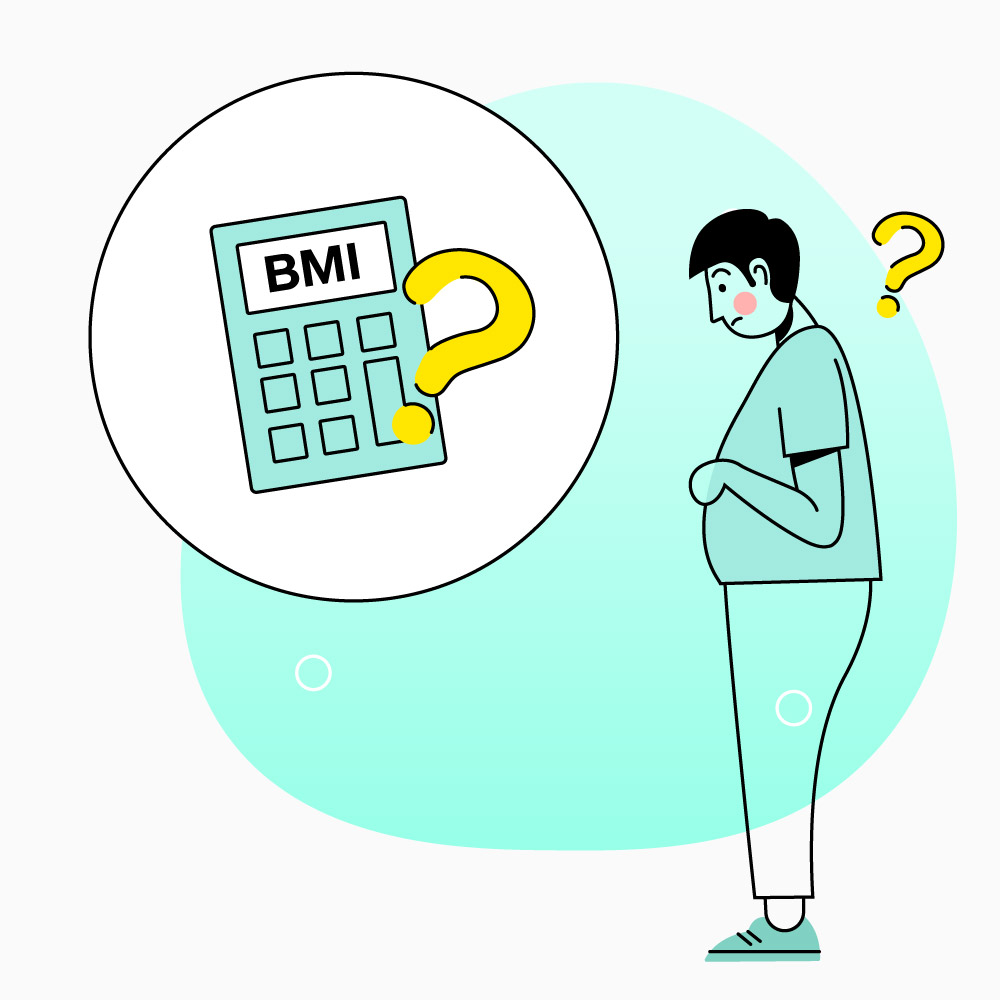 BMI เครื่องคำนวณหาค่าดัชนีมวลกาย