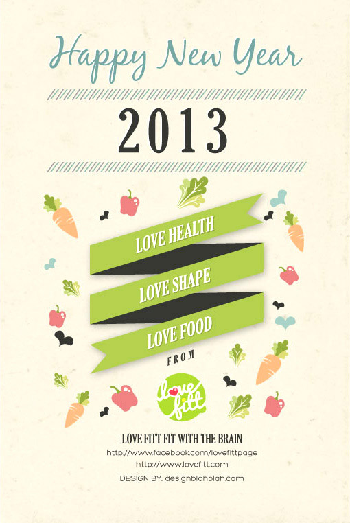 Happy New Year 2013 by Lovefitt