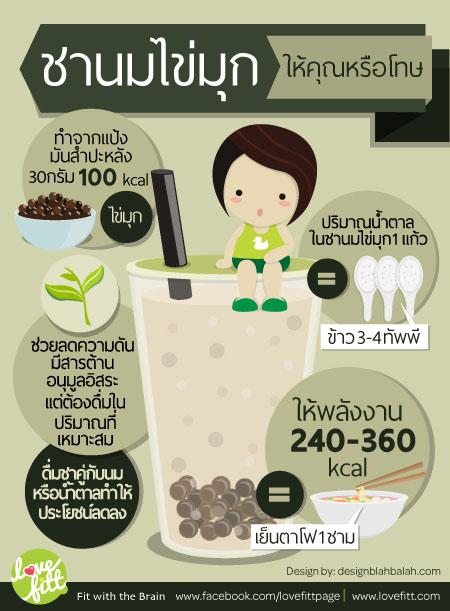 ชาเย็น-ชาเขียว-ชาไข่มุก ทำวัยรุ่นลงพุง ให้คุณหรือโทษ