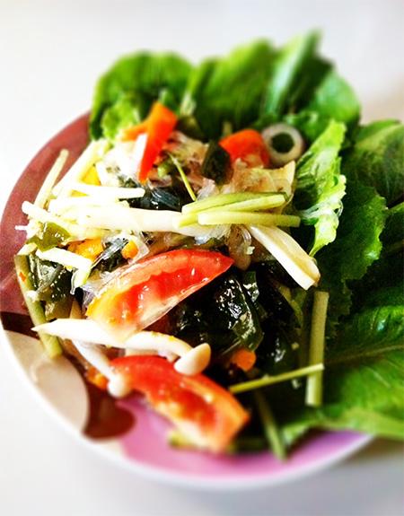mushroom salad main