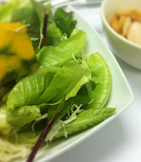 salad with diet