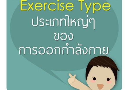 ประเภทของการออกกำลังกาย
