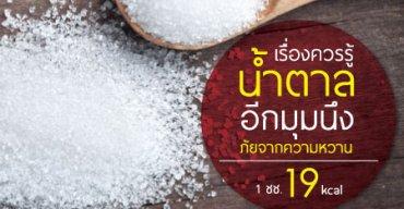 เรื่องควรรู้เกี่ยวกับน้ำตาล อีกมุมนึงภัยจากความหวาน