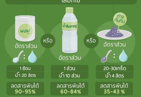 วิธีการล้างผักอย่างปลอดภัย