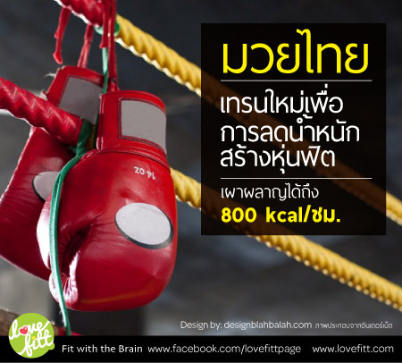 มวยไทยเพื่อการลดน้ำหนัก