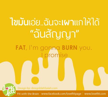 ลดน้ำหนัก ลดที่ไขมัน