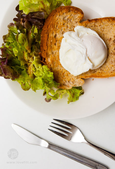 Poached egg 1