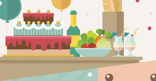 เทศกาลงานเลี้ยง กินอย่างไรไม่เพิ่มน้ำหนัก