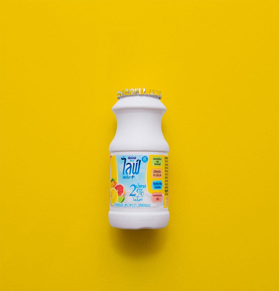 ดัชมิลล์ 4 IN 1 ไลฟ์พลัส สูตรน้ำตาล 2% รสซิตรัสเลมอน