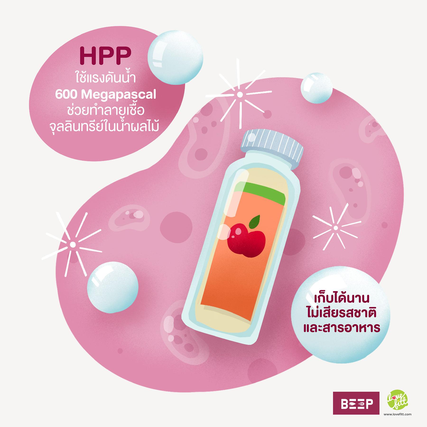 HPP Cold-Pressed ความลับแห่งการเก็บรักษาคุณประโยชน์จากธรรมชาติ