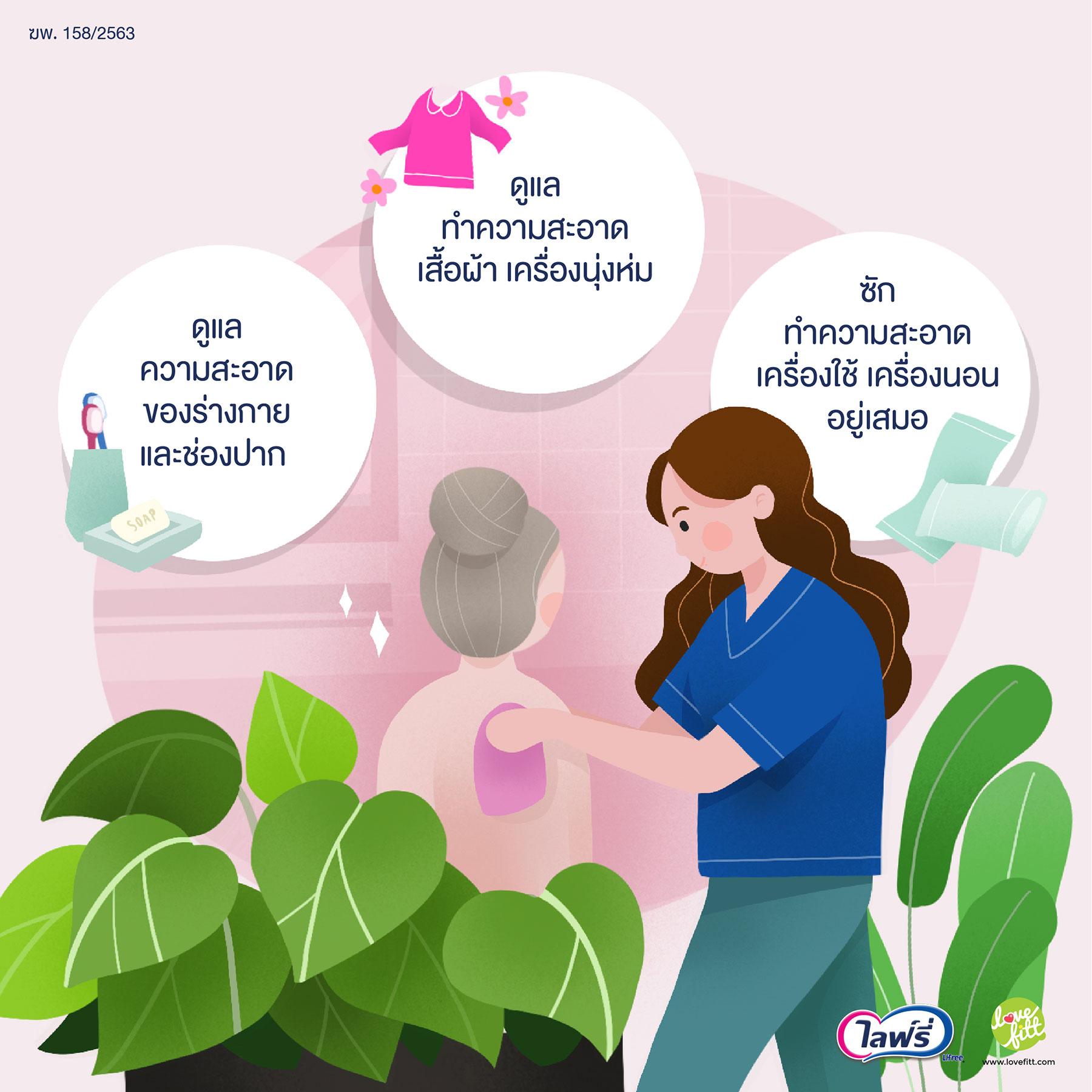 สุขภาพอนามัยดี ความสะอาดช่วยลดโรคภัย