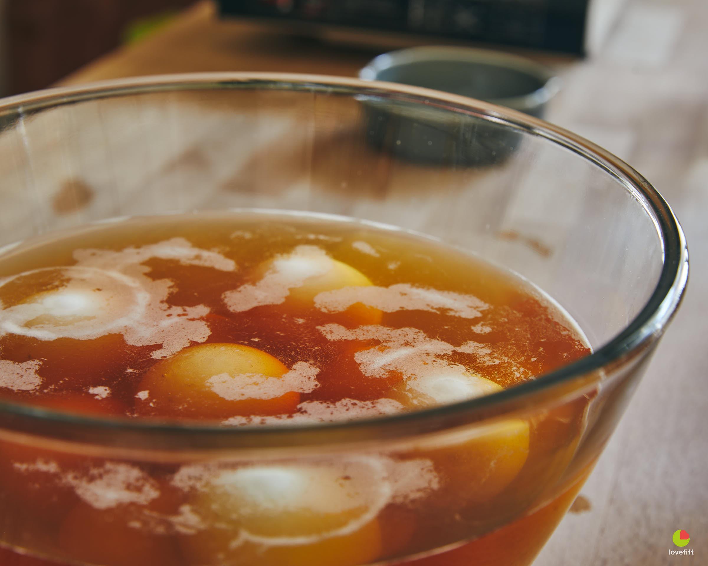 ล้างไข่ด้วยน้ำส้มสายชูกลั่น